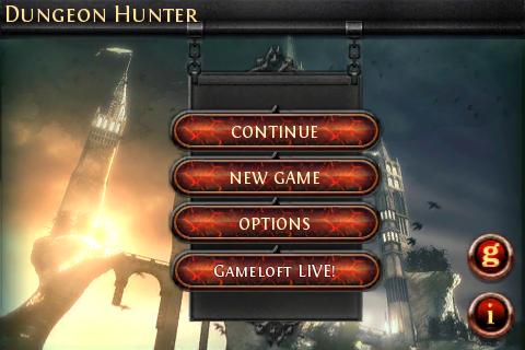 DungeonHunter_menu