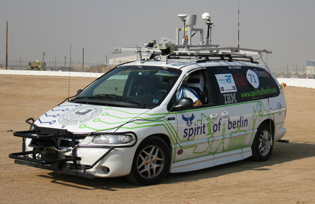Spirit of Berlin - automobil na dálkové ovládání