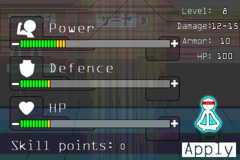 Vylepšení skillů ve Stick-Fu