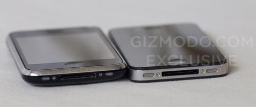 Porovnání prototypu a iPhone 3GS