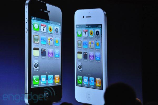 Apple iPhone 4 černý a bílý