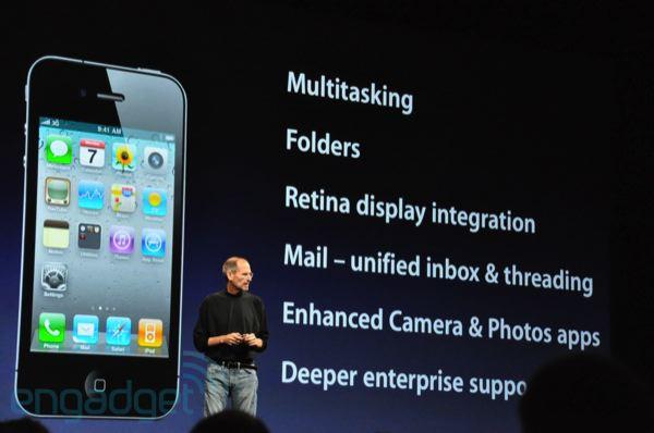 Novinky operačního systému iOS4