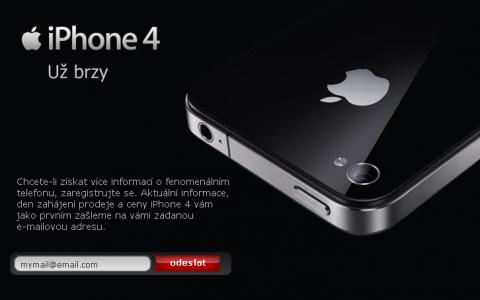 Prodej iPhone 4 u O2