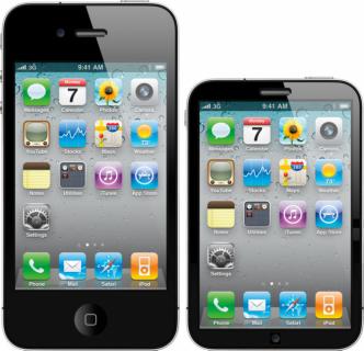 iPhone 4 a iPhone nano