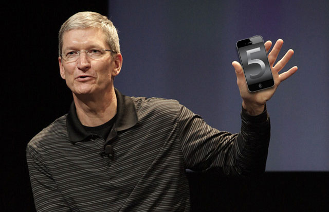 Tim Cook & iPhone 5