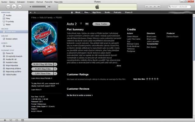 Český iTunes Store