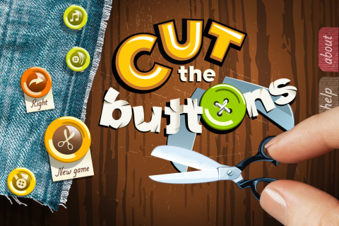 Cut the Buttons - menu