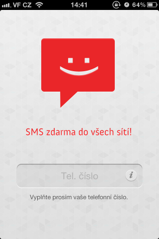 SMS Oskárek - vaše telefonní číslo