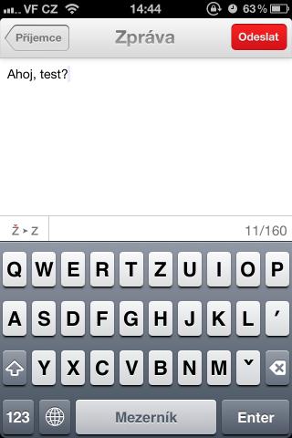 SMS Oskárek - text zprávy