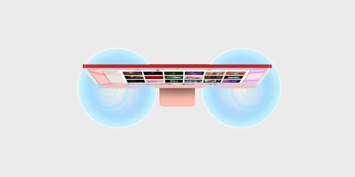 Reproduktory iMacu