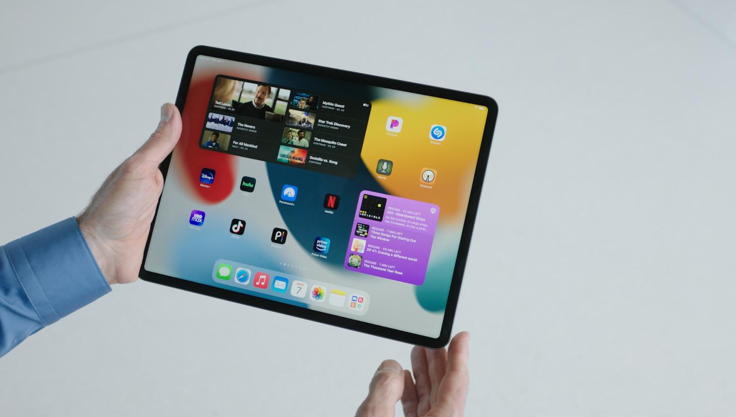 widgety v iPadOS 15